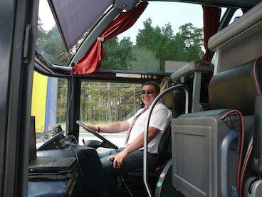 shuttle bus driver