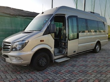 19-seater Mercedes Benz Sprinter mini bus