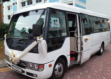 24 seater wedding mini bus